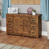 Heyford Rough Sawn Oak Six Drawer Sideboard - - Living Room by Baumhaus available from Harley & Lola - 2