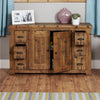 Heyford Rough Sawn Oak Six Drawer Sideboard - - Living Room by Baumhaus available from Harley & Lola - 4