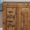 Heyford Rough Sawn Oak Six Drawer Sideboard - - Living Room by Baumhaus available from Harley & Lola - 6