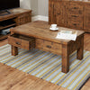 Heyford Rough Sawn Oak Four Drawer Coffee Table - - Living Room by Baumhaus available from Harley & Lola - 3