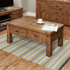 Heyford Rough Sawn Oak Four Drawer Coffee Table - - Living Room by Baumhaus available from Harley & Lola - 4