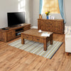 Heyford Rough Sawn Oak Four Drawer Coffee Table - - Living Room by Baumhaus available from Harley & Lola - 5