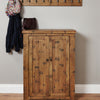 Heyford Rough Sawn Oak Shoe Cupboard - - Living Room by Baumhaus available from Harley & Lola - 3