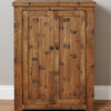 Heyford Rough Sawn Oak Shoe Cupboard - - Living Room by Baumhaus available from Harley & Lola - 5