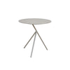 Verona Aluminium Large 3 Legged Side Table -Light Taupe - Garden and Conservatory by Cozy Bay available from Harley & Lola - 2