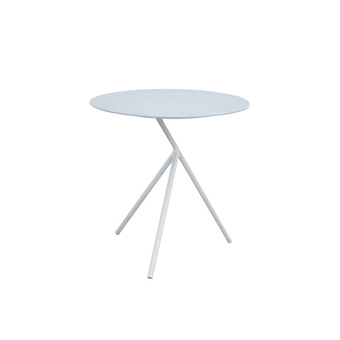 Verona Aluminium Large 3 Legged Side Table -White & Grey - Garden and Conservatory by Cozy Bay available from Harley & Lola - 1
