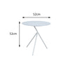Verona Aluminium Large 3 Legged Side Table - - Garden and Conservatory by Cozy Bay available from Harley & Lola - 4