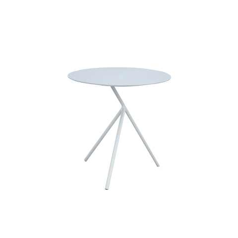 Verona Aluminium 3 Legged Side Table -White & Grey - Garden and Conservatory by Cozy Bay available from Harley & Lola - 1