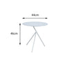 Verona Aluminium 3 Legged Side Table - - Garden and Conservatory by Cozy Bay available from Harley & Lola - 3