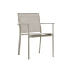 Verona Aluminium & texteline Dining Chair -Light Taupe - Garden and Conservatory by Cozy Bay available from Harley & Lola - 2