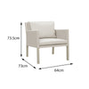 Verona Aluminium & Fabric 2 Seater Casual Set - - Garden and Conservatory by Cozy Bay available from Harley & Lola - 8