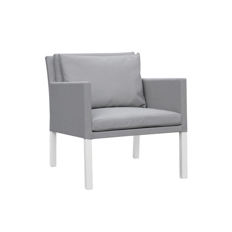 Cozy Bay Verona Aluminium & Fabric Single Arm Sofa