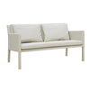 Verona Aluminium & Fabric 2 Seater Sofa -Light Taupe - Garden and Conservatory by Cozy Bay available from Harley & Lola - 2