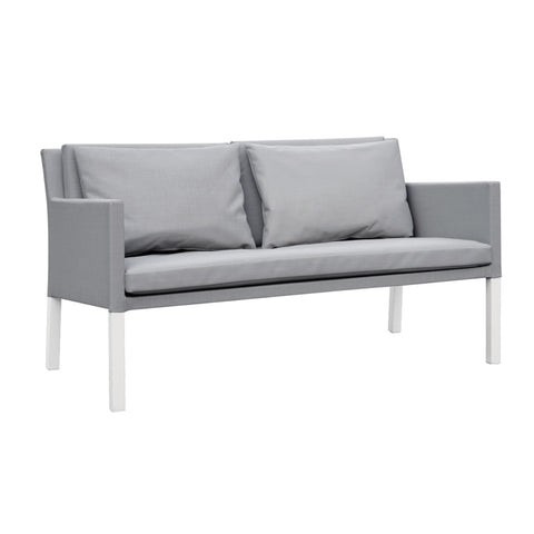 Cozy Bay Verona Aluminium & Fabric 2 Seater Sofa