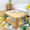 Aston Oak Coffee Table Medium - - Living Room by Baumhaus available from Harley & Lola - 4