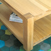 Aston Oak Coffee Table Medium - - Living Room by Baumhaus available from Harley & Lola - 2
