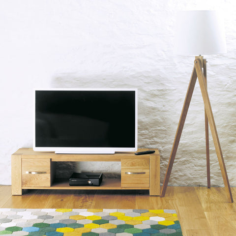 Aston Oak Widescreen Television Cabinet