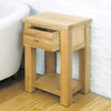Aston Oak One Drawer Lamp - - Living Room by Baumhaus available from Harley & Lola - 5