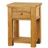 Aston Oak One Drawer Lamp - - Living Room by Baumhaus available from Harley & Lola - 2