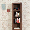 Mayan Walnut Narrow Bookcase - - Living Room by Baumhaus available from Harley & Lola - 8