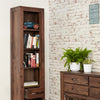Mayan Walnut Narrow Bookcase - - Living Room by Baumhaus available from Harley & Lola - 5