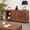 Mayan Walnut Large Low Sideboard
