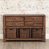 Mayan Walnut Console Table - - Living Room by Baumhaus available from Harley & Lola - 4
