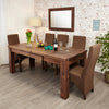 Mayan Walnut Extending Dining Table - - Living Room by Baumhaus available from Harley & Lola - 1