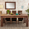 Mayan Walnut Extending Dining Table - - Living Room by Baumhaus available from Harley & Lola - 4