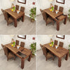 Mayan Walnut Extending Dining Table - - Living Room by Baumhaus available from Harley & Lola - 5