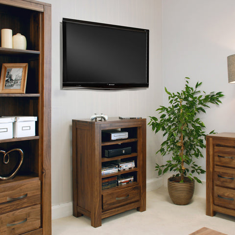 Baumhaus Mayan Walnut Entertainment Ancillaries Storage Unit