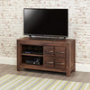 Mayan Walnut Four Drawer Television Cabinet - - Living Room by Baumhaus available from Harley & Lola - 3