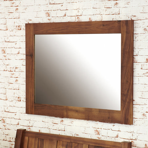 Baumhaus Mayan Walnut Medium Mirror