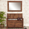 Mayan Walnut Medium Mirror - - Living Room by Baumhaus available from Harley & Lola - 4