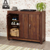 Baumhaus Mayan Walnut Extra Large Shoe Cupboard