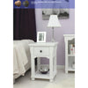 Hampton One Drawer Lamp Table - - Living Room by Baumhaus available from Harley & Lola - 1