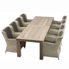 LIFE Outdoor Living Corona Count Eight Seater Garden Dining Set