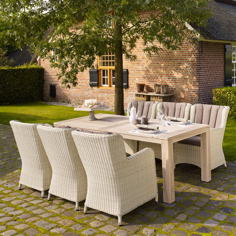 LIFE Corona Count Six Seater Garden Dining Set