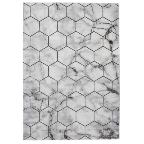 Think Rugs Craft NG719 Grey/Silver