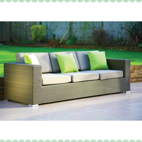 Cuba 3 Seater Sofa - - Garden & Conservatory by Westminster available from Harley & Lola - 1