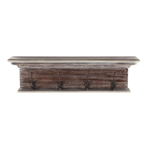 Novasolo Halifax Coat Rack Natural Wash 4 Hook