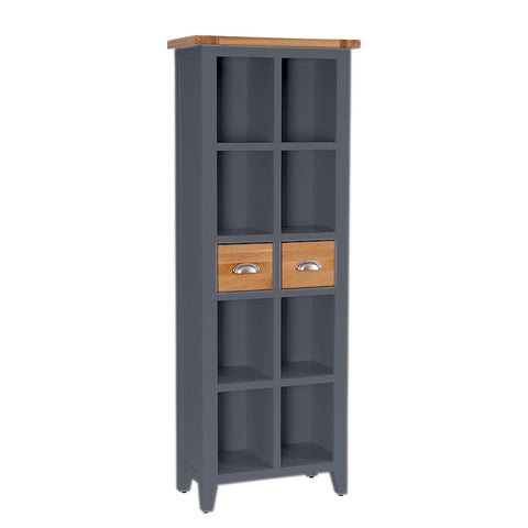 Rustic Bookcase -Down Pipe - Living Room by Besp-Oak available from Harley & Lola - 1