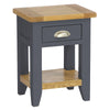 Rustic Bedside Table -Down Pipe - Living Room by Besp-Oak available from Harley & Lola - 1