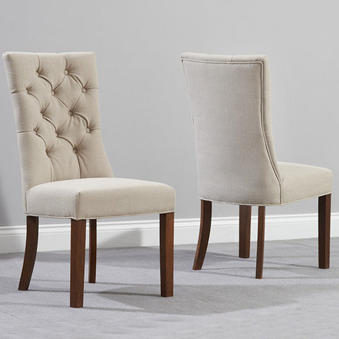 Mark Harris Albury Dark Oak Dining Chairs (Pair)