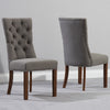 Albury Dark Oak Dining Chairs (Pair) by Harley & Lola