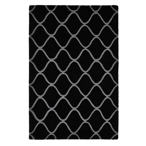 Elements Black - - Rugs by Think Rugs available from Harley & Lola - 1
