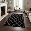 Elements Black - - Rugs by Think Rugs available from Harley & Lola - 2