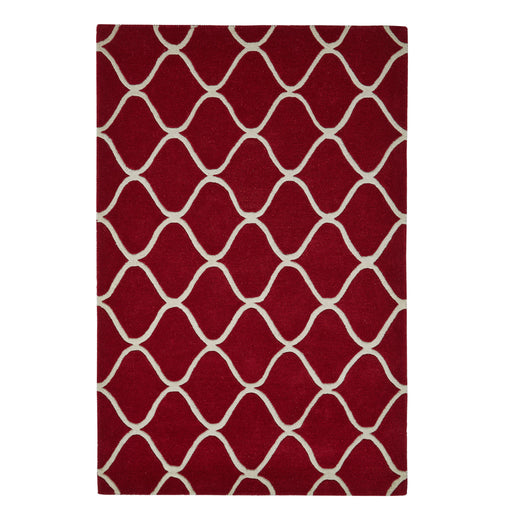 Elements Red - - Rugs by Think Rugs available from Harley & Lola - 1