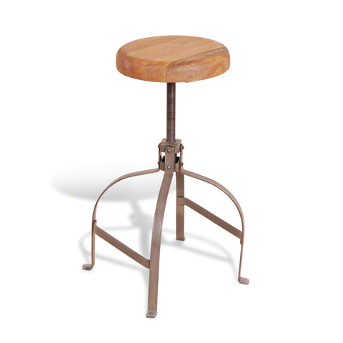 Hoxton Screw Stool - - Living Room by Bluebone available from Harley & Lola