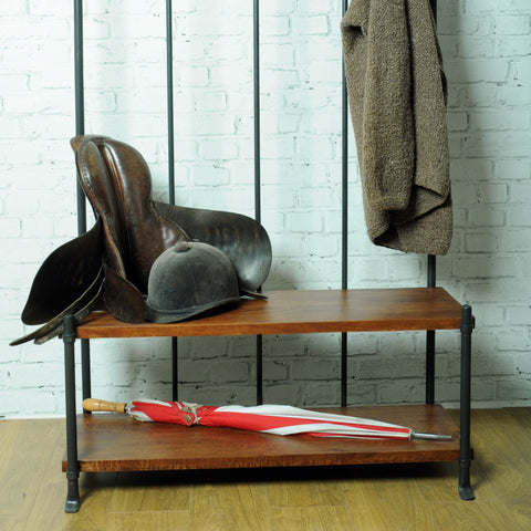 Hoxton Hall Bench and Coat Rack